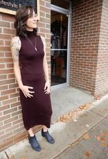 CEST MOI CLOTHING ESPRESSO DRESS