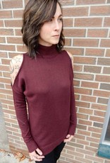 CEST MOI CLOTHING BORDEAUX CUT OUT
