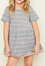 HAYDEN LA STRIPED KNIT DRESS