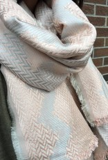 HOUSE OF FREYJA BETTY WHITE SCARF