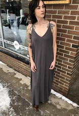 LOVE STITCH PEWTER PATTER MAXI