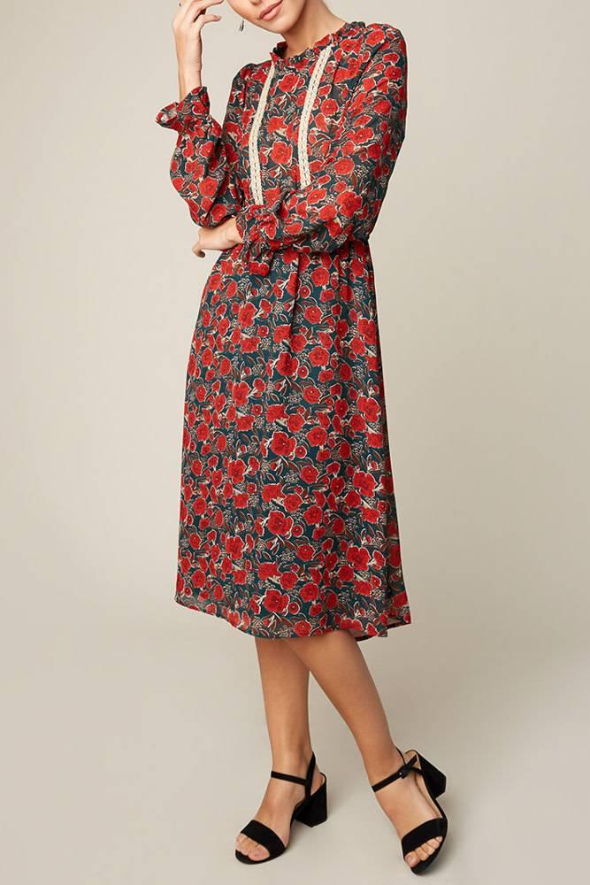HAYDEN LA POPPY LOVE DRESS