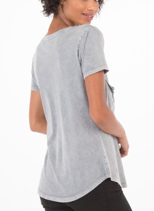 Z SUPPLY WASHED POCKET TEE