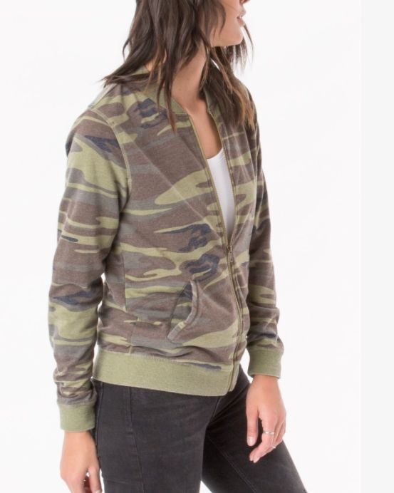 Z SUPPLY THE CAMO BOMBER