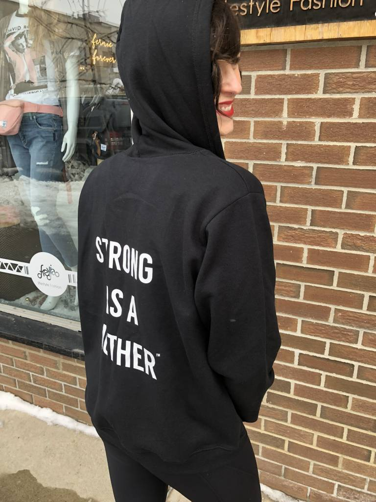 STRONG AS A MOTHER STRONG AS A MOTHER ZIP UP