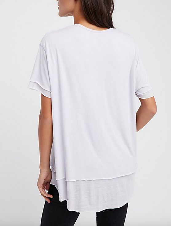 FREE PEOPLE CLOUD NINE TEE