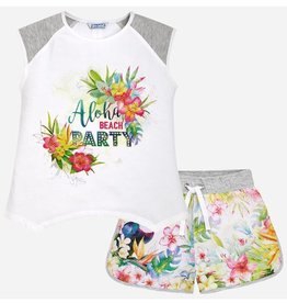 MAYORAL MAYORAL ALOHA SHORTS SET