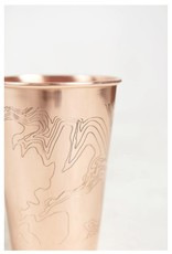 UNITED BY BLUE GO FORTH COPPER TUMBLER