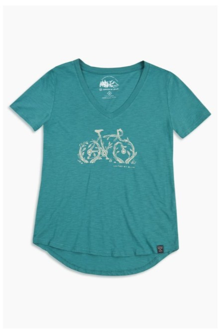 UNITED BY BLUE BIKE ROOTS TEE