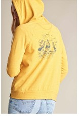 UNITED BY BLUE ORGANIC WATERFALL ZIP UP