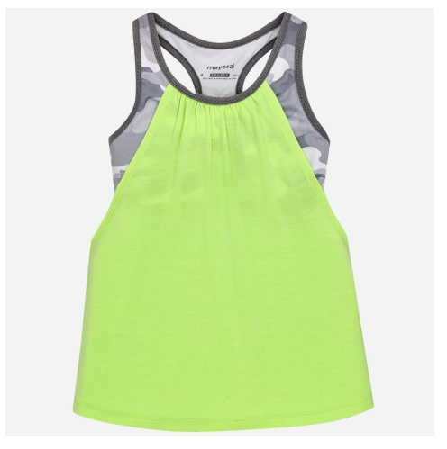 MAYORAL LIME ATHLETIC TOP