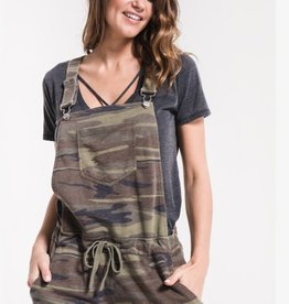 Z SUPPLY Z SUPPLY CAMO SHORT OVERALLS