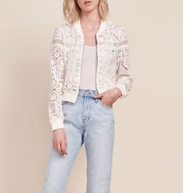 JACK BB DAKOTA EMILY LACE BOMBER JACKET