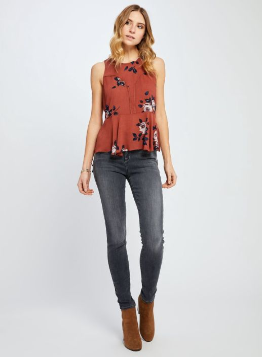 GENTLE FAWN IRENE FLORISH TOP