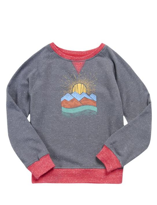 UNITED BY BLUE YOUTH GEO SWEATSHIRT