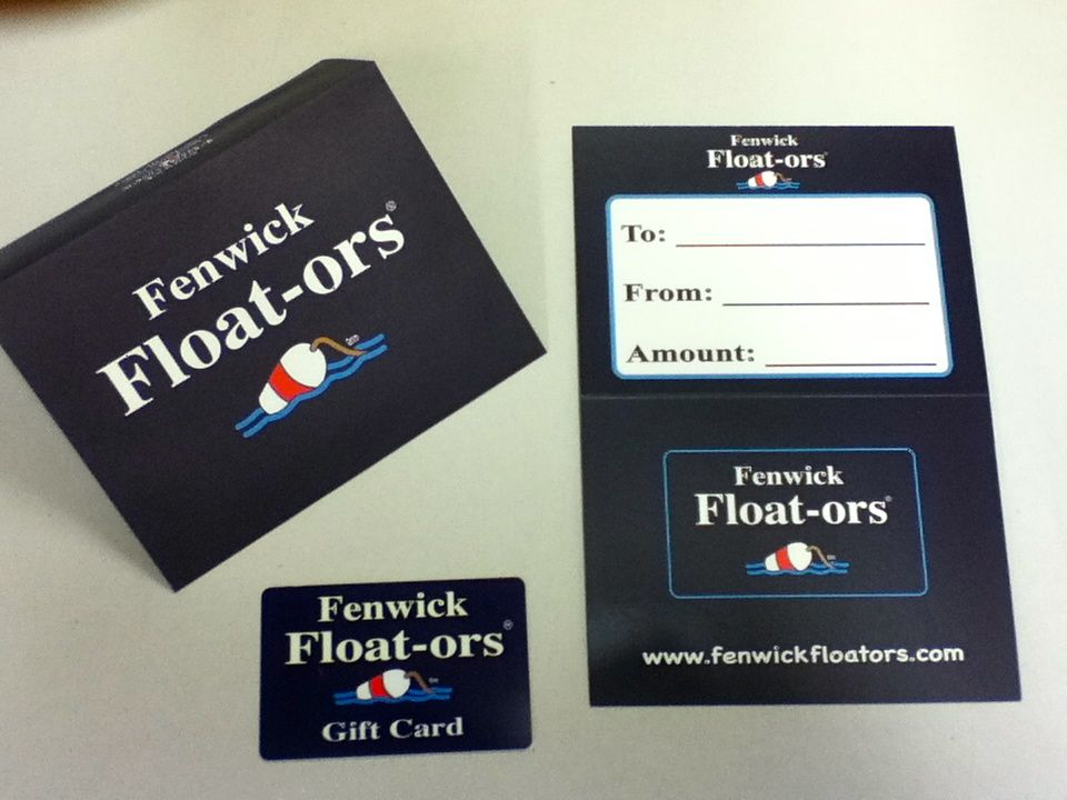 Fenwick Float-ors Fenwick Float-ors Gift Card $100