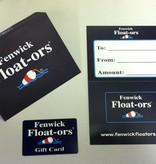 Fenwick Float-ors Fenwick Float-ors Gift Card $50.00