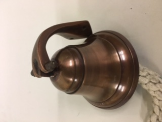 Ships Bell - Antique Copper Finish