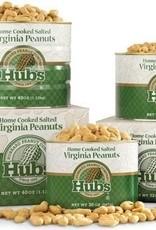 Hubbard Peanut Co. Hubs Salted Peanuts 12oz. Can