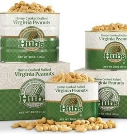 Hubbard Peanut Co. Hubs Salted Peanuts 12oz. Can
