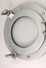 """Porthole Glass Aluminum 9"""""""