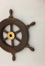 Wooden Mini Ship Wheel 5.875""