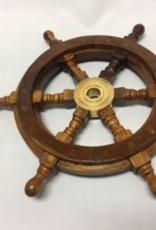 """Wooden Ship Wheel 12"""""""