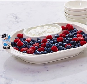 Nora Fleming N5 Chip and Dip Bowl by Nora Fleming