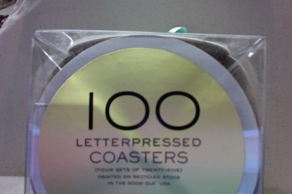 LG-NEWLYWED C&C Coasters - Large Newlywed