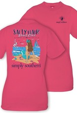 Simply Southern SALTY-STRWBRRY-MEDIUM Short Sleeve Tee by Simply Southern