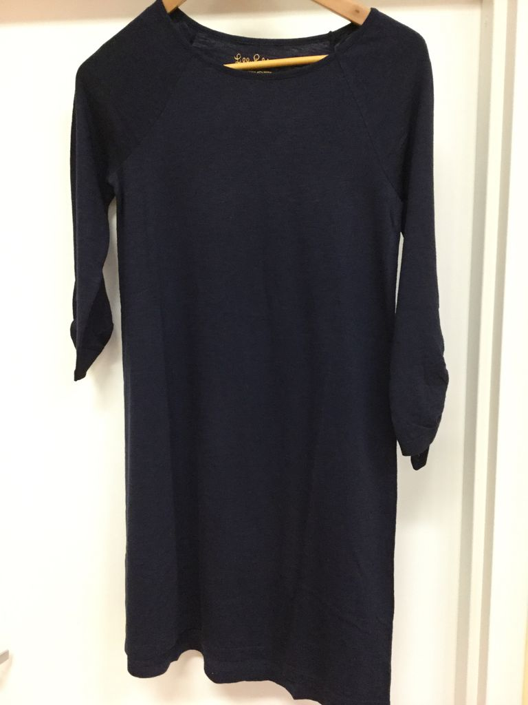 Lilly Pulitzer 26198 408 XS SURFCREST DRESS TRUE NAVY SIZE XS by Lilly Pulitzer