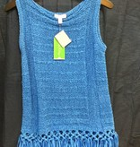 Lilly Pulitzer 20057 516 XL LUCA SWEATER LAPIS BLUE SIZE XL by Lilly Pulitzer