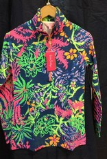 Lilly Pulitzer 20600 527SQ8 XXS UPF 50+ SKIPPER INDIGO ALL A GLOW XXS by Lilly Pulitzer