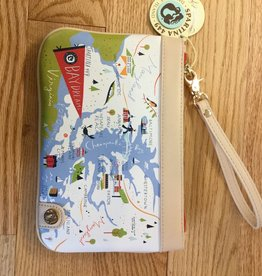 Spartina 449 503495 Bay Dreams Zip Wristlet SS16 by Spartina 449