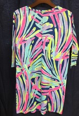 Lilly Pulitzer 24569 527 RH4 XS CORI DRESS INDIGO SEA DREAMIN SIZE XS by Lilly Pulitzer
