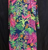 Lilly Pulitzer 25992 527SQ8 L ERIN DRESS INDIGO ALL A GLOW L by Lilly Pulitzer