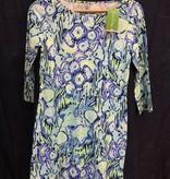 Lilly Pulitzer 24572 527 RG3 XL MARLOWE DRESS INDIGO SUNSET SWIM SIZE XL by Lilly Pulitzer