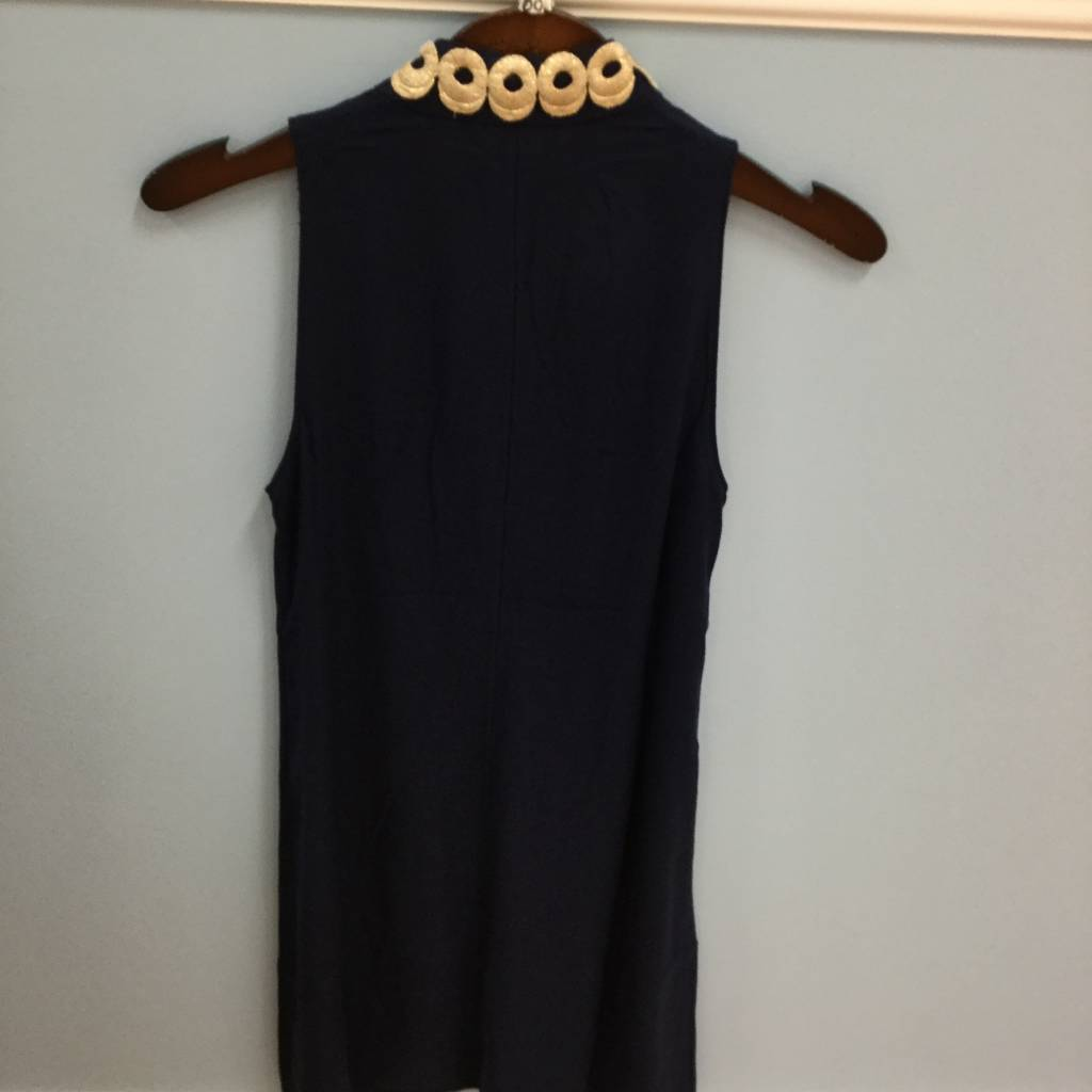 Lilly Pulitzer 25076 408 10 JANE SHIFT TRUE NAVY SIZE 10 by Lilly Pulitzer