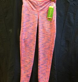 Lilly Pulitzer 24912 660 X64 S WEEKENDER LEGGING TIKI PINK SPACE DYE SIZE S by Lilly Pulitzer