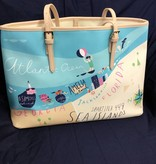 817245 Linen & Leather Sea Island Tote by Spartina 449