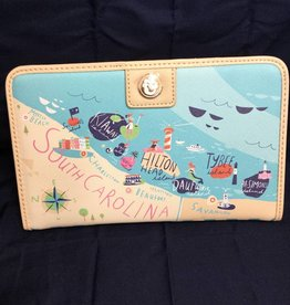 Spartina 449 519458 Sea Islands Snap Wallet by Spartina 449