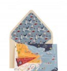 Spartina 449 503099 Greeting Card Bay Dreams Delaware 5x7 SS16 by Spartina 449