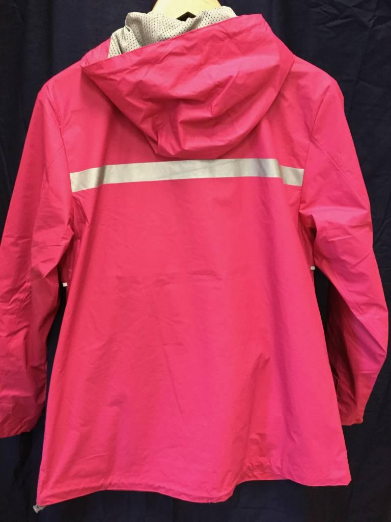 Fenwick Float-ors 5099 Womens New Englander Rain Jacket in Hot Pink Size M