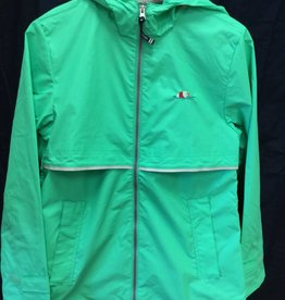 5099 Womens New Englander Rain Jacket in Mint Size XS