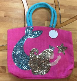 1562049P Pink Mermaid Dazzle Tote