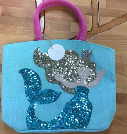 1562049B Blue Mermaid Dazzle Tote