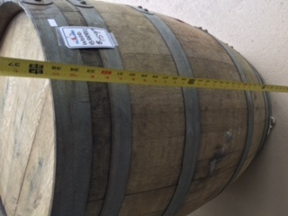 Fenwick Float-ors Wine Barrel (Pick Up in Store Only!).