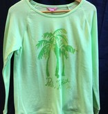 Lilly Pulitzer 25197 312 SF4 S SANDY POPOVER GLOW GREEN PALM ON SIZE S by Lilly Pulitzer