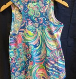 Lilly Pulitzer 25192 999 RI3 S JAYLYNNE TOP MULTI GILLTY PLEASURE SIZE S by Lilly Pulitzer