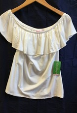 Lilly Pulitzer 25084 115 XL LA FORTUNA TOP RESORT WHITE SIZE XL by Lilly Pulitzer